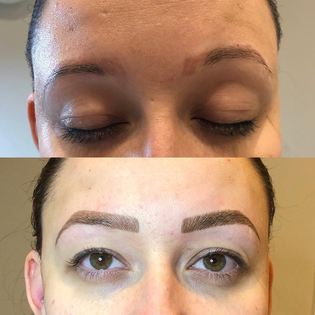 Semi Permanent Eyebrows By Jess