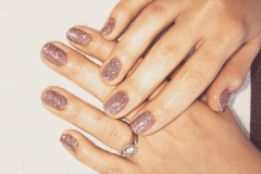 Bio Sculpture Gel - shine like a disco ball
